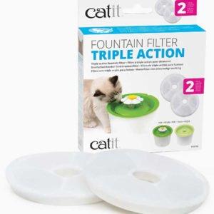 Cat It Filter Softening, 2-pack (för hårt vatten)